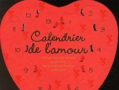 Un calendrier de l'amour avec 365 bonnes raisons, si ce n'est plus, de s'aimer ! Disponible sur la liste de mariage Madame et Monsieur.