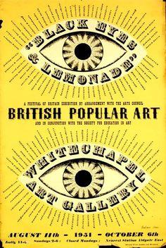 'Black Eyes and Lemonade' poster by Barbara Jones
