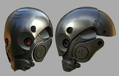 -- Share via Artstation iOS App, Artstation © 2016 Robot Design, Helmet Design, Mask Design, Science Fiction, Combat Suit, Arte Robot, Robot Concept Art, Armor Concept, Futuristic Armour