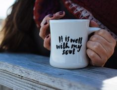 Christian Gift | IT IS WELL WITH MY SOUL MUG Created Co | The Created Co.
