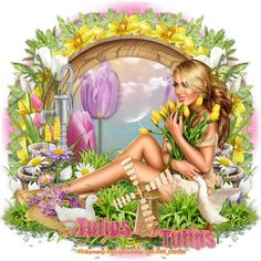 Chrisjes Psp Creatie's: Tulips from Amsterdam