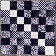 """March In The Mountains    Block from the book """"The Civil War Love Letter Quilt"""
