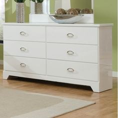Standard Furniture Meridian 6 Drawer Dresser.  AllModern.  $416.99