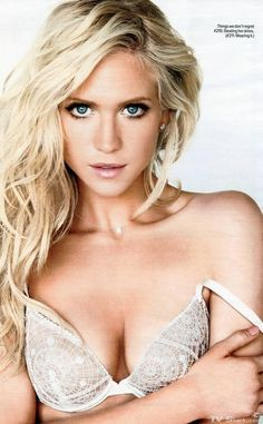 Brittany Snow - Pinning this because of her hair and makeup