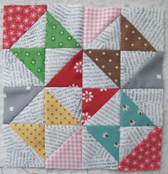 Bee In My Bonnet...cute block for a whole quilt!!