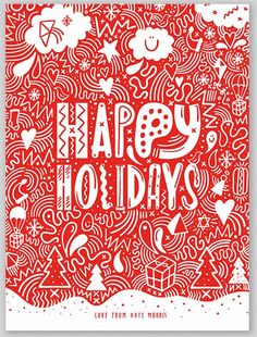 112 best christmas cards images on pinterest christmas e cards greeting cards design from 10 top illustrators m4hsunfo