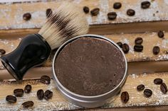 Created with coffee, cream, & some nourishing oils this shaving soap will create a rich, natural, creamy lather with a little bit of brush action. It's lightly scented with notes from the coffee, roasted hazelnuts that meld beautifully with the sultry notes of Madagascar vanilla & supported with a touch of golden walnut butter