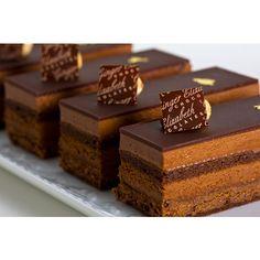 Gianduja Cake- 72% Bittersweet Chocolate Mousse, Chocolate Biscuit ...