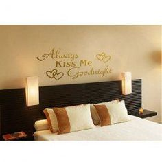 @EverBuying  $16.46 Large Size Elegant Words Sticker Wall Decal (Golden)