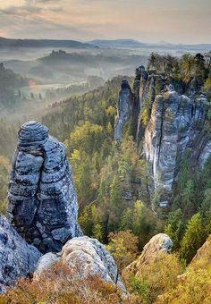 Parque Nacional Saxon, Alemania