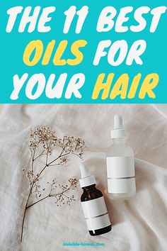 Do you like doing oil treatments on your hair? And now you want to know which hair oils are good for growth and which are good for dry hair? This is a list of the 11 best oils for your hair. Healthy Hair Tips, Healthy Hair Growth, Hair Growth Tips, Growing Out Short Hair Styles, Grow Long Hair, Vitamins For Hair Growth, Hair Vitamins, Diy Hair Care, Hair Care Tips