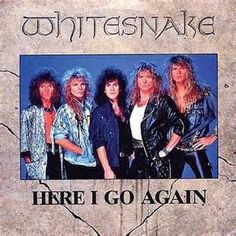 It should be known that Whitesnake didn't start of as a Glam Metal band. But when hit, they became one. 80 Bands, 80s Rock Bands, 80s Hair Bands, Music Bands, Metal Bands, Hard Rock, Heavy Metal, Def Leppard, 80s Music