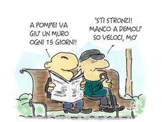 esistentepaziente: Una Tragicomica visita algli Scavi di Pompei