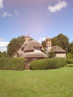 Nice Chimneys on beautiful thatch cottage in Blase Castle Hamlet, Bristol, England