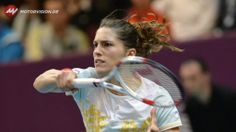 Paris Open Indoors 2014 2nd Rd: Andrea Petkovic def. Kristina Mladenovic 6-4, 6-2. 1/30/2014