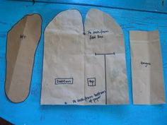 Excellent tutorial on making one-piece moccasins. Looks significantly easier than other turned shoes.