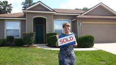 Maria found this beautiful 4 bedroom home and she LOVES it!  Thanks for working with me Maria!