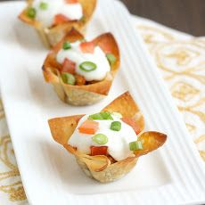 Smoked Wonton Ranch Chicken Appetizers RECIPE....