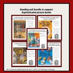 Sophisticated Picture Book Units for older kids Bundle Thematic Units, Mentor Texts, Student Gifts, Reading Activities, Literacy Centers, Critical Thinking, Small Groups, Homeschooling, Middle School