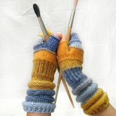 Fingerless gloves for girls Spring fashion accessories by dwarfs