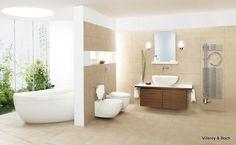 Home Design Interior: minimalist bathroom design Modern Bathroom Tile, Natural Bathroom, Bathroom Tile Designs, Bathroom Flooring, Small Bathroom, Bathroom Furniture, Gold Bathroom, Bathroom Interior, Bathroom Colours