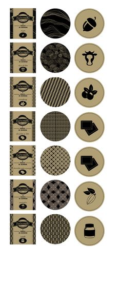 Embalagens desenvolvidas para a marca Brewmille - Brownies Mágicos / Packaging…