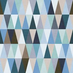 Moody Triangles Removable Wallpaper  8 Feet by WallsNeedLove, $68.00