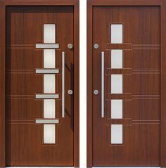 Drzwi wejściowe z kolekcji INOX model 442,1-442,11 produkcji AFB-Kraków