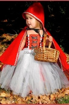 Little Red Riding Hood Tutu Dress Costume perfect for starting rpg at a young age. Lol