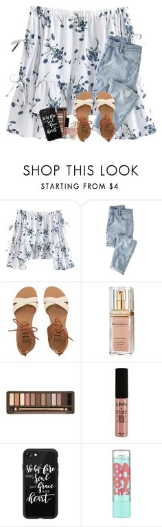 """""""Time drags on and you close your eyes but when you open them time has slipped through your fingers like water through a net"""" by graciegirl2015 ❤ liked on Polyvore featuring Wrap, Billabong, Elizabeth Arden, Urban Decay, NYX, Casetify and Maybelline"""
