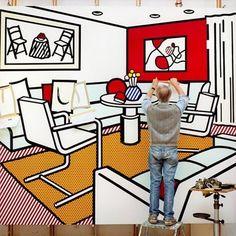 Inside Roy Lichtenstein's Studio