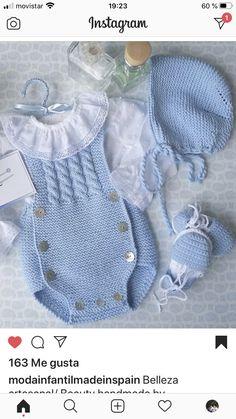 Baby Hat Knitting Patterns Free, Baby Cardigan Knitting Pattern, Baby Boy Knitting, Baby Knitting Patterns, Baby Patterns, Crochet Baby Bibs, Baby Blanket Crochet, Knitted Baby Clothes, Crochet Clothes