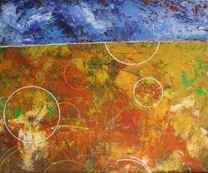 "Abstraktes Bild in Acryl auf Leinwand ""Manchmal...."" Painting, Abstract Pictures, Painting Abstract, Canvas, Painting Art, Paintings, Painted Canvas, Drawings"