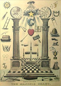 First Degree Masonic Chart