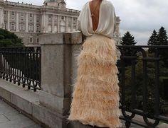 Feather Skirt, Skirts, Dresses, Fashion, Vestidos, Moda, Fashion Styles, Skirt