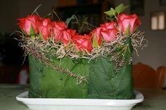 Zomer bloemstukjes door leden - bloemstukjes zomer boeketten en bloemstukken