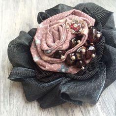 """Купить Брошь """"Май"""" - брошь, брошь цветок, брошь ручной работы, бохо-стиль, бохо"""