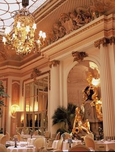 Paris, The Ritz Afternoon Tea