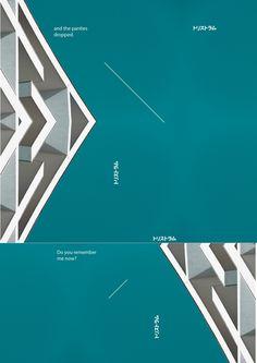 現代建築幾何美 海報視覺 | MyDesy 淘靈感