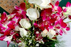 Beautiful Orchid Flowers... Enough for making your wedding graceful...
