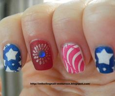 Nail Designs July 4th ...