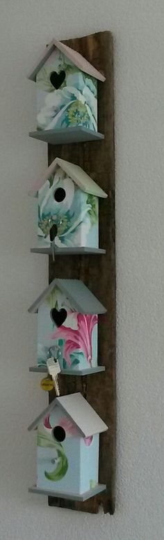Femkado maakt ook blikvangers voor het interieur, zoals dit sleutelrek. Kijk voor meer info op Femkado.nl