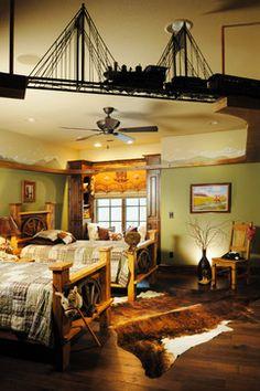 bedroom on pinterest train room train tracks and train bedroom