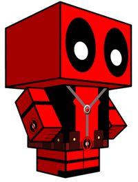 Deadpool Cube Craft
