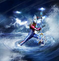 Live Action, Ultraman Tiga, Ultra Series, Tv Themes, Picture Collection, Kamen Rider, Power Rangers, Godzilla, Cool Art