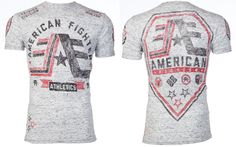 American Fighter AFFLICTION Mens T-Shirt STONY BROOK Biker Gym UFC S-XXL $40 #Affliction #GraphicTee