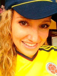 Las hinchas más lindas de la Selección Colombia - Futbolete.com Futbolete.com