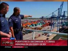 Decomisan En PR 1,7 Libras De Herorína En Un Ferry De RD #Video