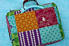 Sew Sweetness: Tutorial: Embroidery-to-Go Bag Zweckentfremdung mit einem Belking Bag???
