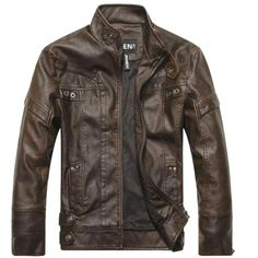 Mens motorcycle leather jacket Price $103.55 AUD Click the link in my bio ---> @soulkreedclothing and grab yours today while stocks last. Sign up to our newsletter and get 15% off all purchases! Outerwear Type: Leather & Suede Cuff Style: Conventional Clothing Length: Regular Closure Type: Zipper Hooded: No Collar: Mandarin Collar Sleeve Length: Full Color Style: Solid Decoration: Rivet Pattern Type: Solid Style: Fashion Lining Material: Cotton Detachable Part: None ..